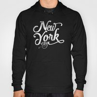 New York City vintage typography Hoody