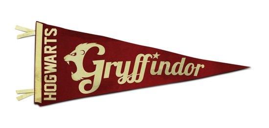 Gryffindor 1948 Vintage Pennant Art Print