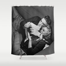 Elvis and Marilyn Shower Curtain
