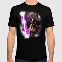 Darth Revan Mens Fitted Tee Black SMALL