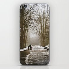 A walk through the park II iPhone & iPod Skin