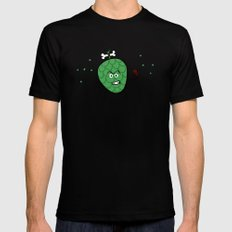 Cherimoya Black SMALL Mens Fitted Tee