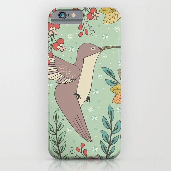 Dancing Hummingbirds iPhone & iPod Case