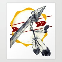 Spear 1 Art Print