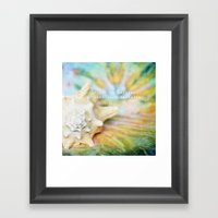 Trying to Daydream Framed Art Print