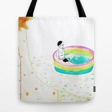 float. Tote Bag