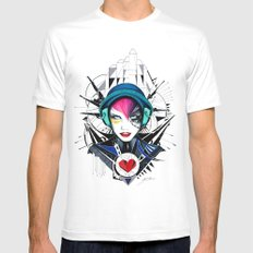 -War In My Heart- Mens Fitted Tee White SMALL