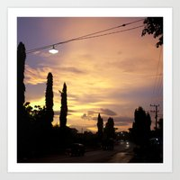 Streetlight No.5 Art Print