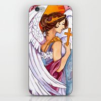 Giovanna - Art Nouveau A… iPhone & iPod Skin