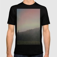 In a Fog Mens Fitted Tee Black SMALL