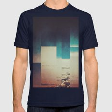 Fractions A27 Mens Fitted Tee Navy SMALL
