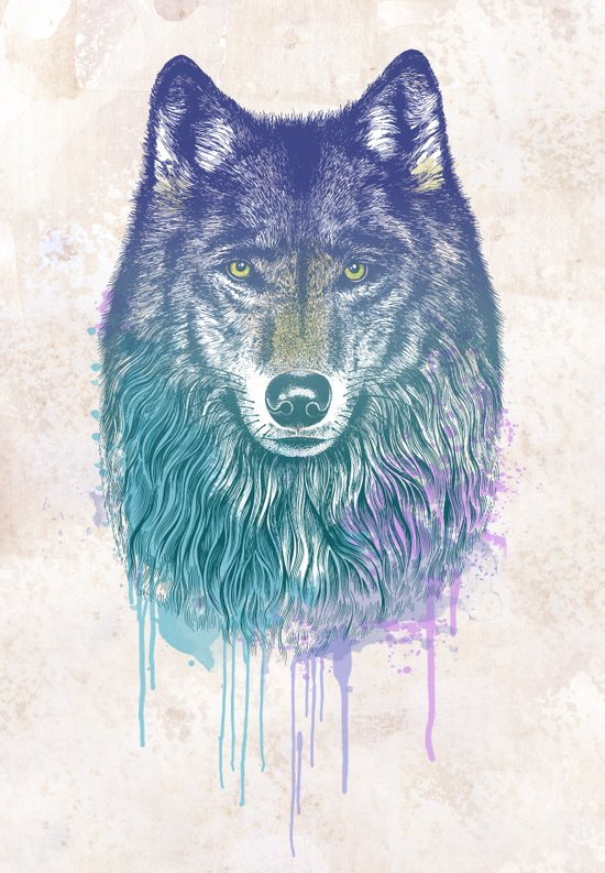 I Dream of Wolf Canvas Print