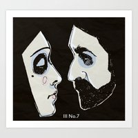 Two People Art Print