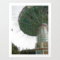 Jardin D'Acclimatation R… Art Print