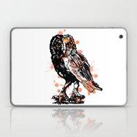 Owl with ink Laptop & iPad Skin