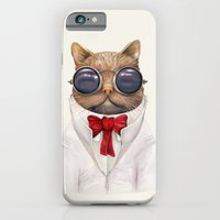 iPhone & iPod Case featuring Astro Cat by Animal Crew