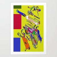 Lantz45_luger09 Art Print