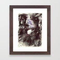 dünyanın kıyısında-2 Framed Art Print