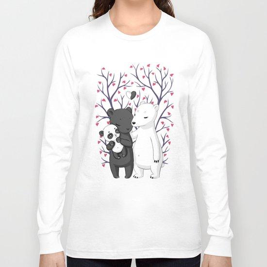 Bear Family Long Sleeve T-shirt