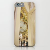 iPhone & iPod Case featuring Cafe In Paris by Eoxe
