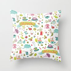 Let's have some FUN Throw Pillow