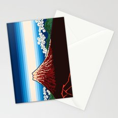 Rainstorm Below the Summit Stationery Cards
