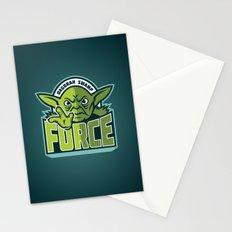 Dagobah Swamp Force - Teal Stationery Cards