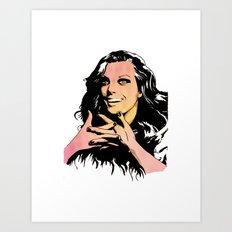 Glamour2 Art Print