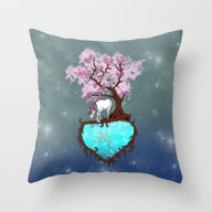 Last Unicorn Throw Pillow