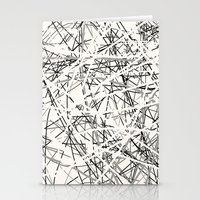 Stings (B&W) Stationery Cards
