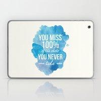 Shots You Take Laptop & iPad Skin