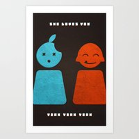 She Loves You Yeah Yeah … Art Print