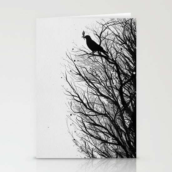 Dead Tree Stationery Card