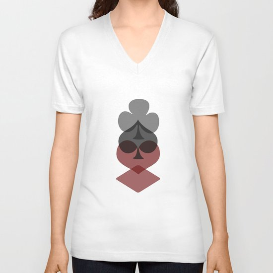 Alice in Wonderland V-neck T-shirt