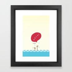 help! Framed Art Print