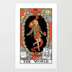 XXI-The World Art Print