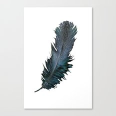Feather - Enjoy the difference! Canvas Print