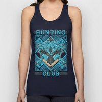 Hunting Club: Azure Rathalos Unisex Tank Top