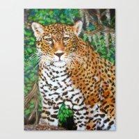 Mesmerizing Jaguar Canvas Print