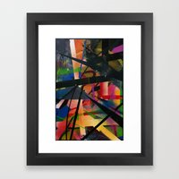 Abstract Graffiti Framed Art Print