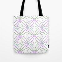 Floral Pattern - JUSTART… Tote Bag