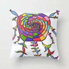 THE NIGHT WATCHER Throw Pillow