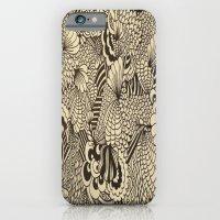 Doodles and Swirls II iPhone 6 Slim Case