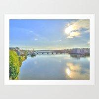 View Of New Ross Bridge,… Art Print