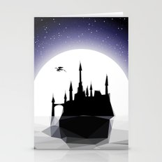 Moonlight Stanza - Night Sea, Castle & the Moon Stationery Cards