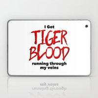 Tiger Blood Laptop & iPad Skin
