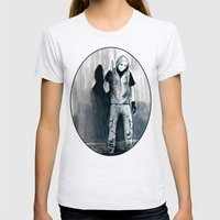 We Shouldn't Have Let Him Watch All Those Giallo Movies When He Was Little Womens Fitted Tee Ash Grey SMALL