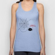 Spiders Have All The Fun Unisex Tank Top