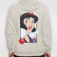 Snow White scared in the Haunted Forest Hoody
