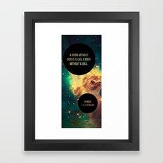 body without soul Framed Art Print